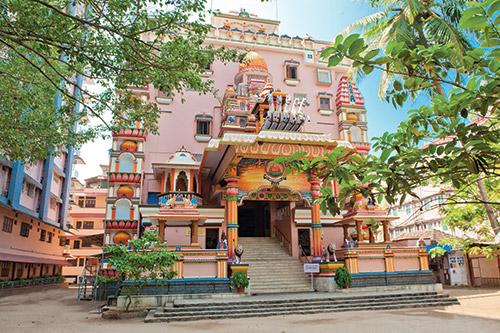 Amritapuri's Kali temple